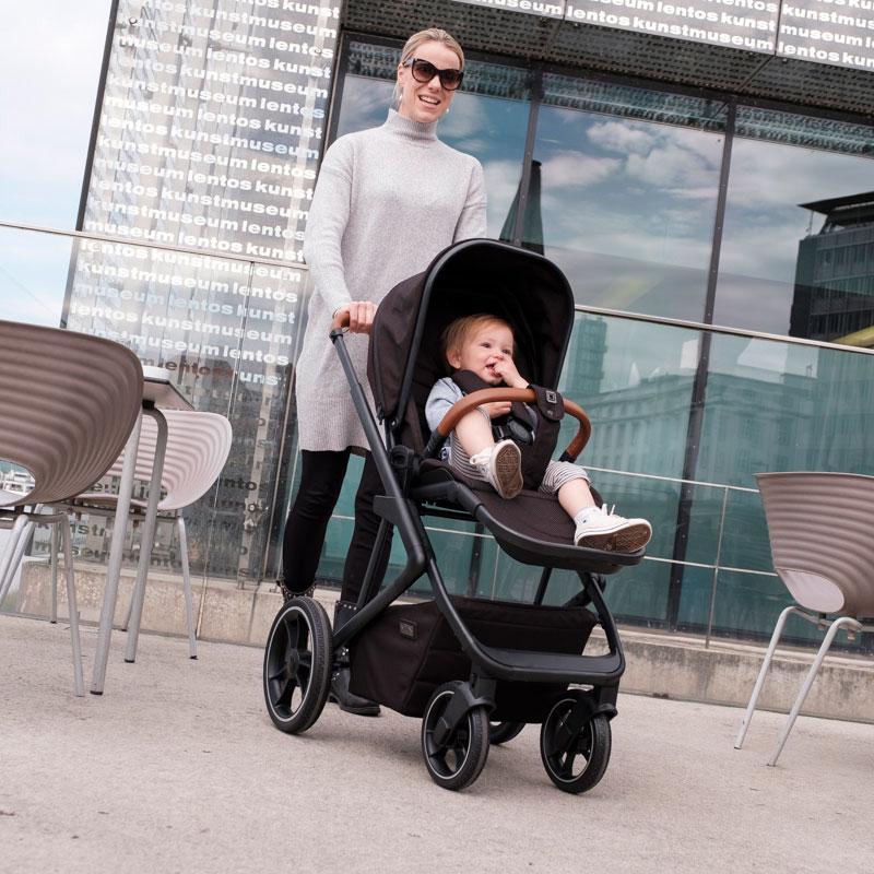 Детская коляска 2 в 1 Moon Style 2020