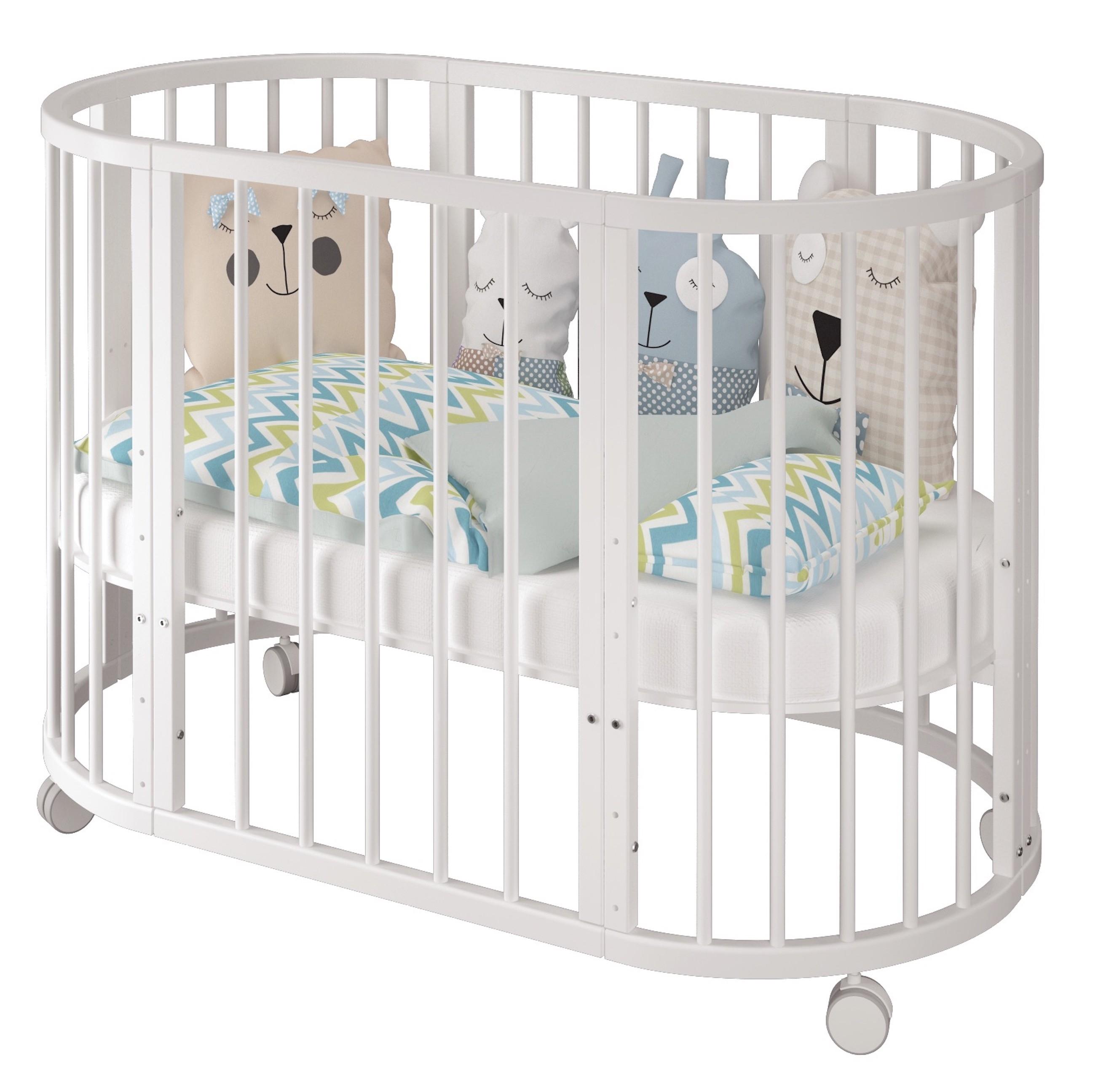 Как выбрать овальную детскую кроватку