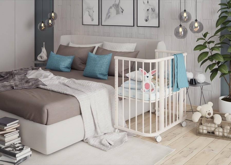 Приставная кроватку Эстель