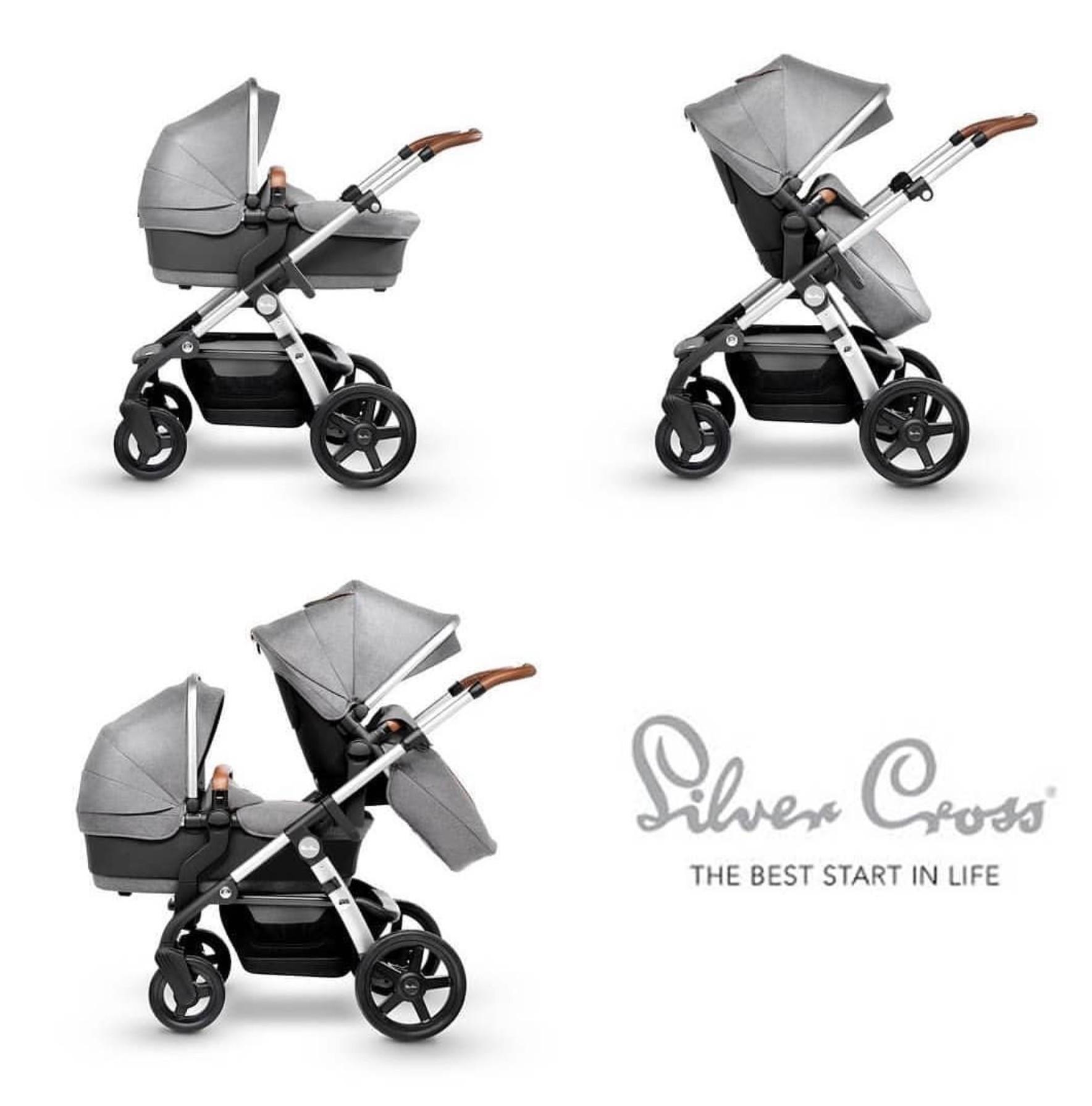 Детская коляска SilverCross, магазин Piccolo СПб